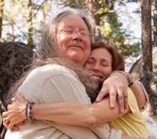 Erich and me at Feathered Pipe Ranch, 2013